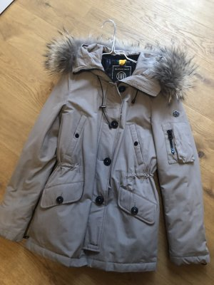 Blonde No. 8 Parka marrone-grigio-cachi