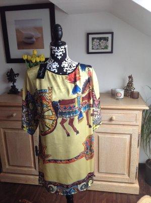 Wundervolles Kleid von Piu & Piu mit schönem Print- NEU mit Etikett!