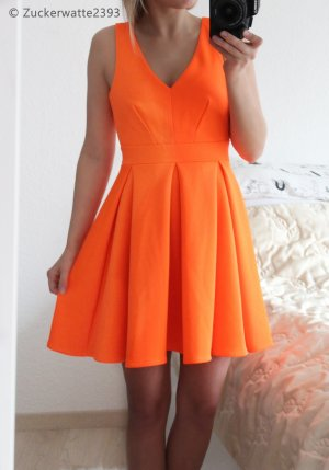 Wundervolles Skaterkleid XS Jane Norman, Orange <3