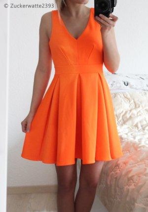 Wundervolles Skaterkleid XS Jane Norman, Orange <3