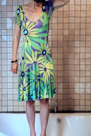 Wundervolles Vintage VERSACE Sommerkleid