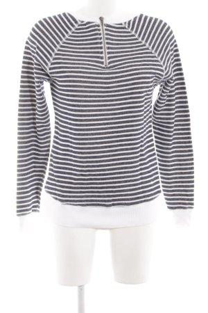 Wunderwerk Sweatshirt schwarz-weiß Allover-Druck Casual-Look
