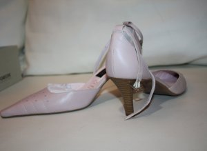 5th Avenue Pumps met bandjes room-licht beige Leer