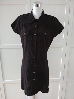 X-Mail Kleid Gr. M 38/40 schwarz Blusenkleid Hemdkleid Sommerkleid