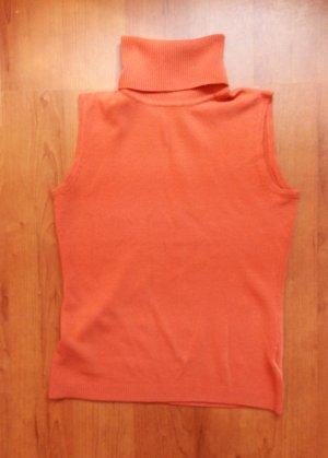 X RAY Top Rollkragen aus Cashmere Merino Mix, orange in GR XS