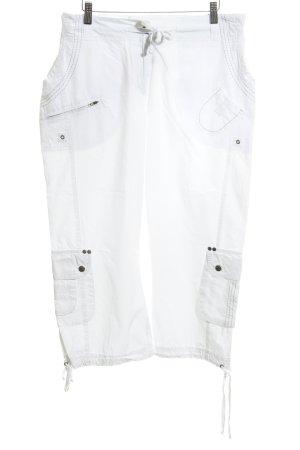 x-two Cargobroek wit simpele stijl