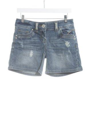 Xanaka Pantaloncino di jeans blu lavaggio acido