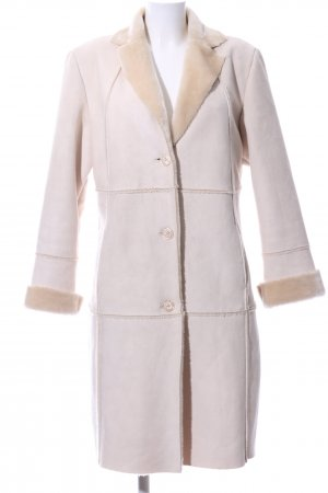 Xanaka Fake Fur Coat white-cream casual look