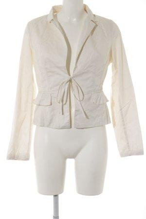 Xanaka Blazer corto bianco sporco stile professionale