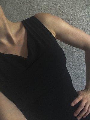 Xanaka Shirt Kleid schwarz sexy
