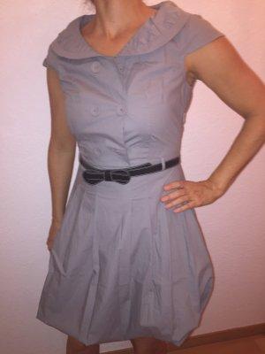 Xanaka Balloon Dress light grey cotton