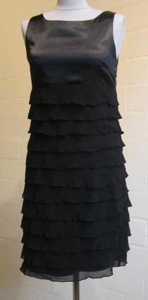 XANAKA: Wunderschönes Kleid im Materialmix, Gr. 36
