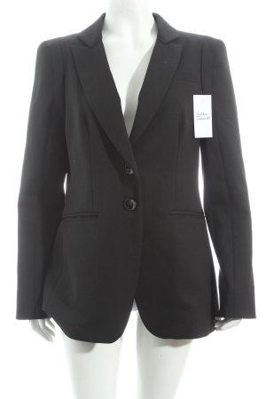 Xandres Long-Blazer schwarz klassischer Stil