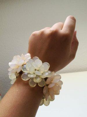 XL Armband mit Blumen