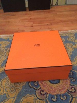 Hermes Paris Bowlingtas donker oranje-oranje