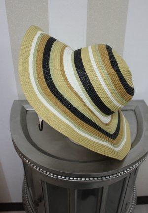 XL Hut mit Streifen chic