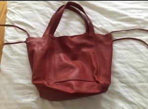 Zara Comprador rojo oscuro