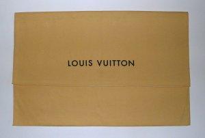 Louis Vuitton Sac en toile brun sable lin