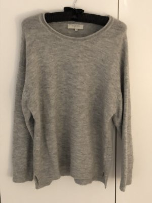 Selected Femme Pull oversize gris clair
