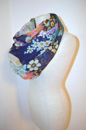 XL Schal Cotton Blumen Neu