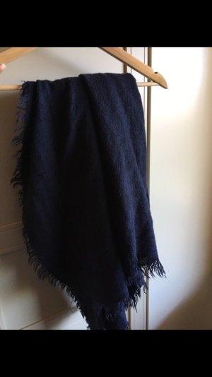 XL Schal dunkelblau