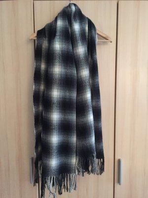 XL Schal weiß grau schwarz Urban Outfitters