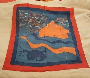 Grege Zijden sjaal veelkleurig