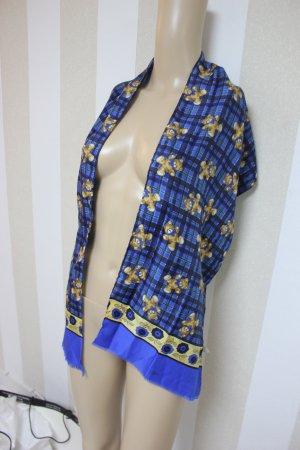 XL Tuch mit Motiv Design Bären blau