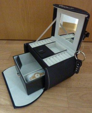Koffer blauw-lichtgrijs