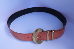 Escada Leather Belt apricot-salmon leather