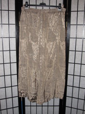 Jupes-culottes marron clair viscose