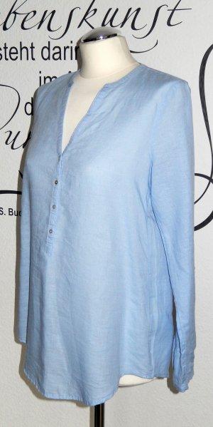 Esprit Tunique-blouse bleu azur lin