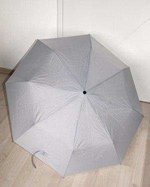 XMAS SALE!! Hellgrauer Regenschirm im Handtaschenformat