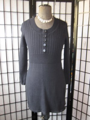b.p.c. Bonprix Collection Gebreide jurk zwart
