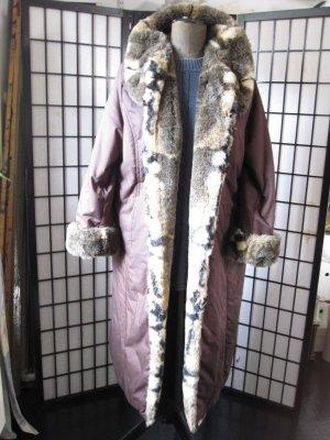 Cappotto invernale multicolore Tessuto misto