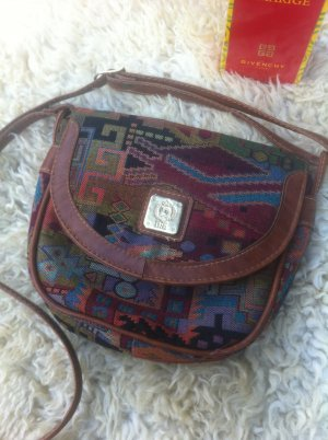 Satchel multicolored mixture fibre