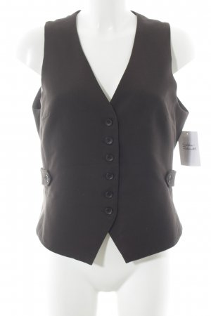 XNK Basic Gilet marrone scuro stile professionale