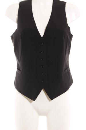 XNK Basic Chaleco de vestir negro estilo «business»