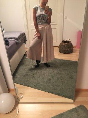 Pantalone culotte crema