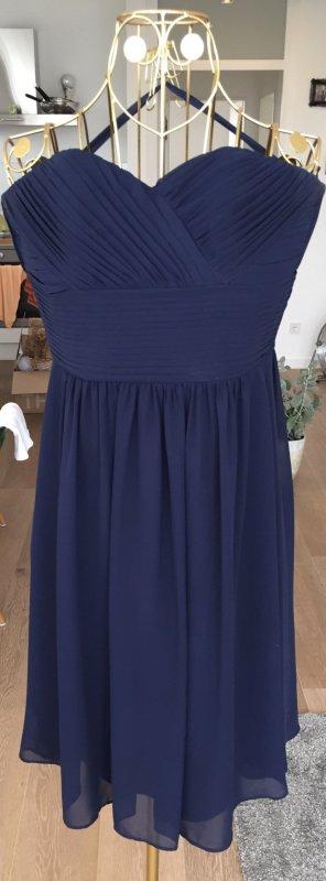 XS neu, 85 €, Cocktailkleid Größe 34, Kleid, Hochzeit, Ballkleid, blau