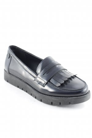 Xti Moccasins black casual look