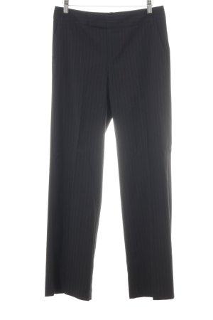 XX BY MEXX Pantalon de costume noir rayure fine élégant