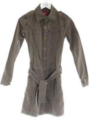 XX BY MEXX Robe chemise gris brun style décontracté