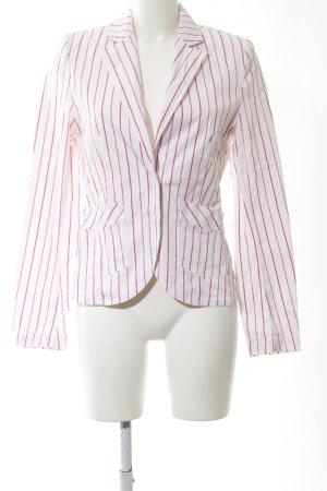 XX BY MEXX Denim Blazer white-pink striped pattern casual look