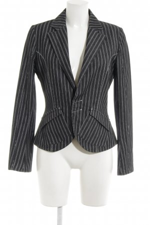 XX BY MEXX Denim Blazer taupe-white pinstripe business style