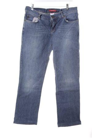 XX BY MEXX Straight-Leg Jeans weiß-kornblumenblau Casual-Look