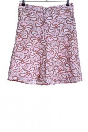 XX BY MEXX Circle Skirt pink-brown abstract pattern casual look