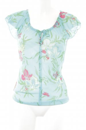 XX BY MEXX Transparenz-Bluse Blumenmuster Casual-Look