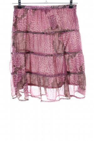 XX BY MEXX Tulle Skirt pink-brown leopard pattern extravagant style
