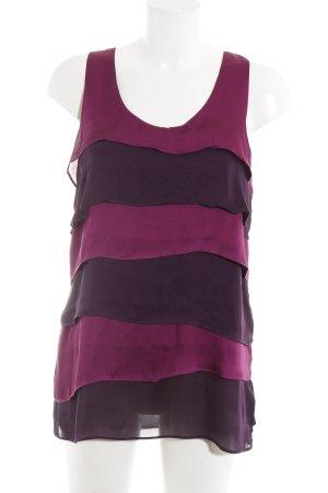 xxi ärmellose Bluse dunkelviolett-violett Elegant